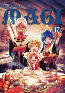Magi: Labyrinth of Magic 17