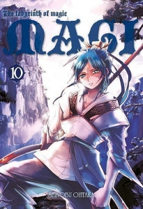 Magi: Labyrinth of Magic 10