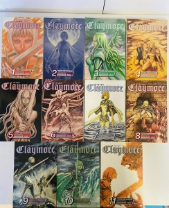 Claymore Vol 1-11